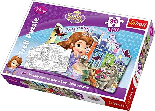 Disney Trefl Sofia The First Maxi Puzzle (30-Piece, ()