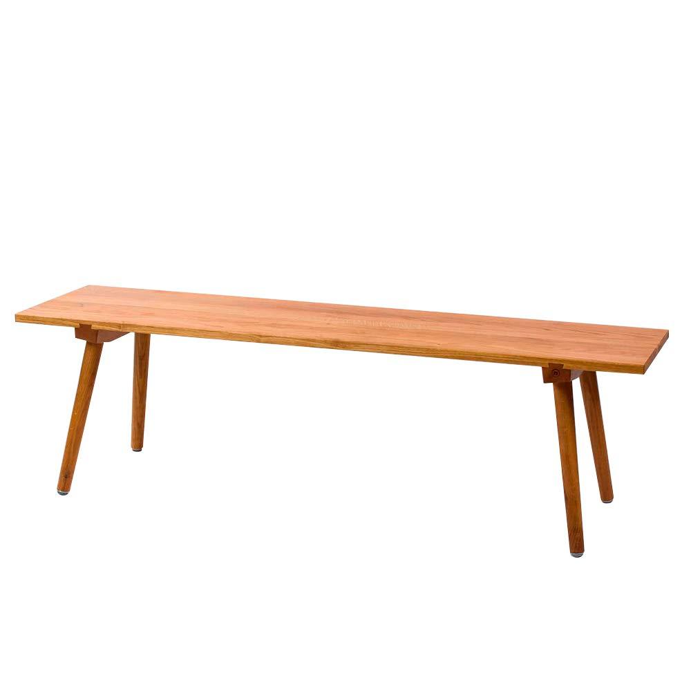 Esszimmerbank Sitzm/öbel Landhaus-Stil Anton Doll Holzmanufaktur Sitzbank Nikklas 200 cm aus Eichenholz Handgefertigt Esszimmer Holz-Bank Massivholz