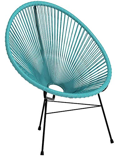 Amazon.com: Acapulco Woven Basket Lounge Chair, 2 unidades ...