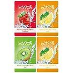 Lakmé Blush & Glow Kiwi Sheet Mask, 20 ml & Lakmé Blush & Glow Strawberry Sheet Mask, 20 ml & Lakmé Blush & Glow Lemon…
