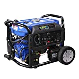 Quip-All 5250DF 5,250 Watt Dual Fuel Gas Portable Generator w/ Electric Start