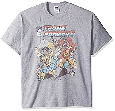 Transformers Men's Big and Tall T-Shirt