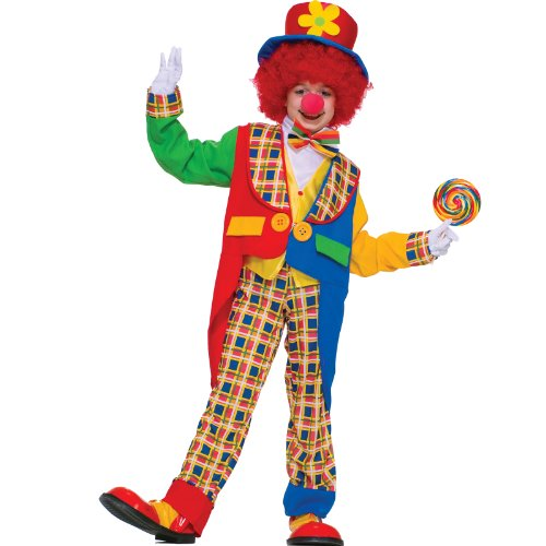 Forum Novelties Clown On The Town Costume, Small -