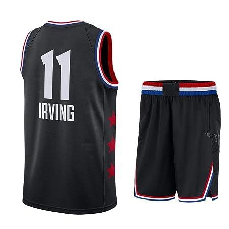 AKCHIUY NBA Camisetas Hombre,11# Celtic Kyrie Irving All-Star ...
