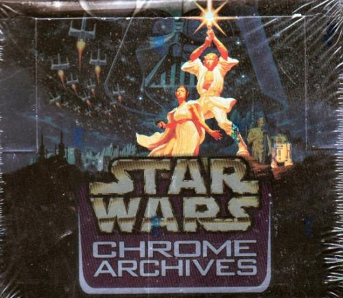 Topps Star Wars Chrome Archives Hobby Box