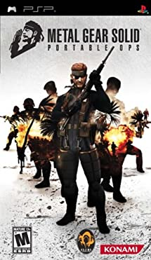 Metal Gear Solid Portable Ops - Sony PSP