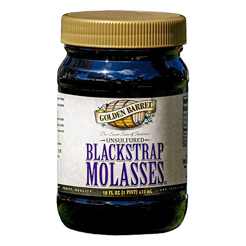 Golden Barrel Blackstrap Molasses  16 Fl  Oz   Single  Packaging May Vary