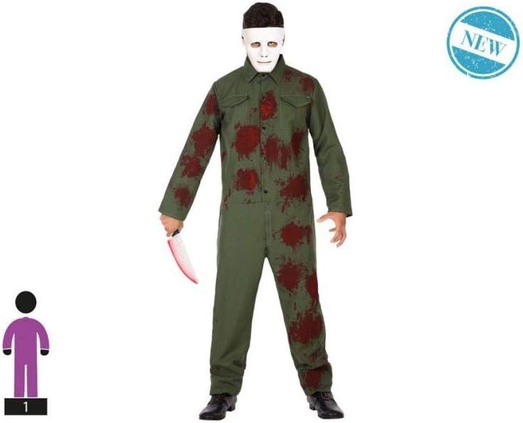 Atosa-55512 Disfraz Mecánico Sangriento para Hombre Adulto, Color ...