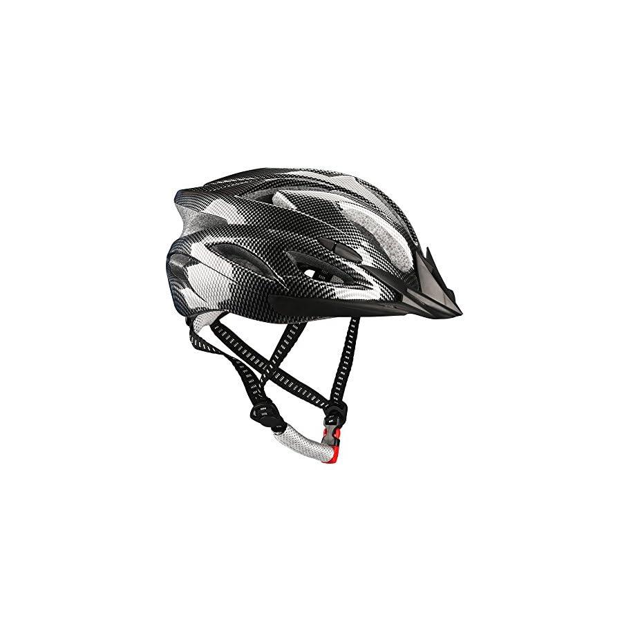 Dazhengyang Cycling Bike Helmet Removable Visor,Ultralight Adjustable Adult Cycling Helmet