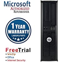 Dell 580 Business High Performance Desktop Computer PC (AMD Althlon x2 B26 3.2G,8G RAM DDR3,320G HDD,DVD-ROM,Windows 10 Home Premium)(Certified Refurbished)