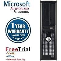 Dell 580 Business High Performance Desktop Computer PC (AMD Althlon x2 B26 3.2G,8G RAM DDR3,320G HDD,DVD-ROM,Windows 10 Home Premium)(Certified Refurbished)