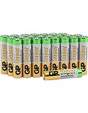 AAA-batterier paket med 24 från GP Batteries SUPER Alkaliskt AAA-batteri