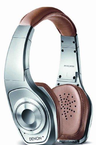 DENON AH-NCW500 Silver | Global Cruiser Bluetooth Wireless Noise Canceling Headphones (Japan (Denon Silver Headphone)