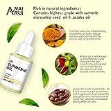ANAIRUI Turmeric Facial Oil, Premium Anti-Aging