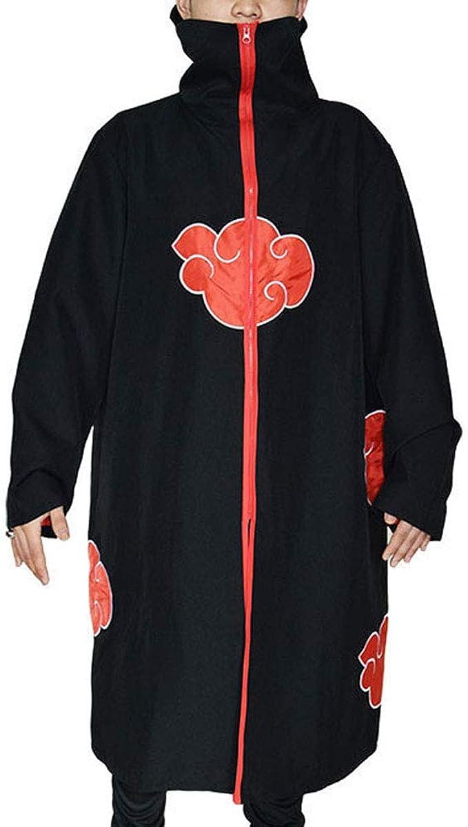 Amazon.com: Mens Naruto Hokage Cloak Ninja Robe Hooded ...