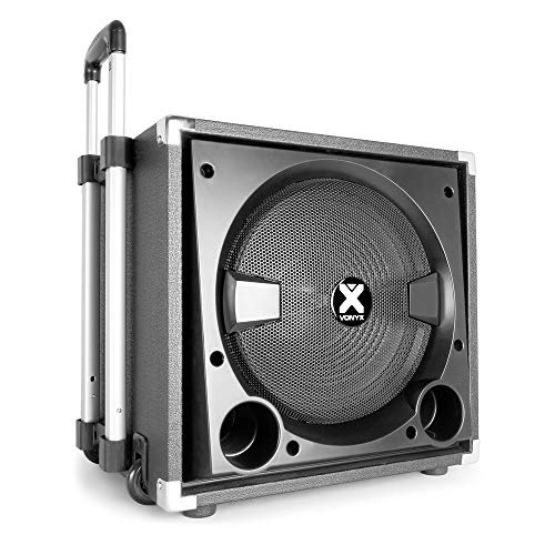VONYX Active Powered PA Speaker Sound System for Mobile DJ