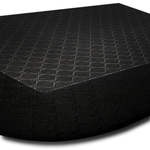 [Ergonomic] Anti-Fatigue Standing Mats - Ideal for all Surfaces, Non-Toxic, Durable with BONUS extra soothing MASSAGE BALLS ($15.00 Value)
