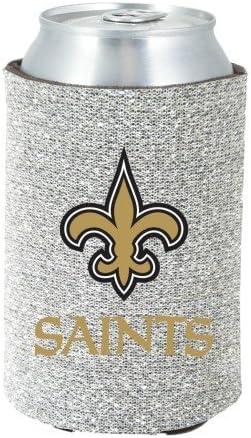 Glitter New Orleans Saints Kolder Kaddy Can Holder