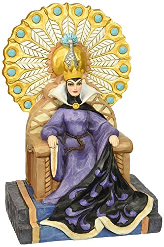 Department 56 Disney Traditions by Jim Shore Evil Queen on Throne Figurine, 9.25