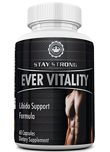 EverVitality Extra Strength Testosterone with Tribulus Terrestris, Fenugreek, Horny Goat Weed and Niacin