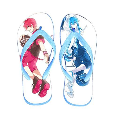 Bromeo Kuroko No Basuke Anime Unisex Flip Flops Chanclas 426