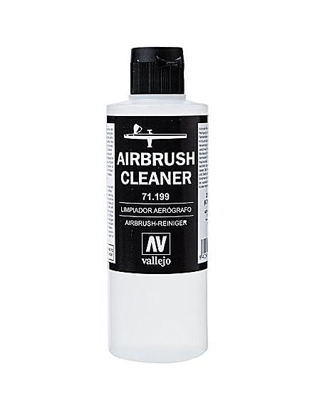 Vallejo 71199. Liquido Limpiador de Aerografos. 200 ml ...