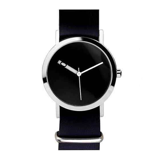 Regalo de día de fiesta/ecstasy/reloj digital/creativo/correa desmontable/ cuero suave/reloj neutral de la juventud, 4: Amazon.es: Relojes
