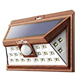 Cheap LITOM Solar Lights Outdoor, Wireless 24 LED Motion Sensor Solar Lights with Wide Lighting Area, IP65 Waterproof Security Lights for Porch, Deck, Backyard, Front Door, Garage