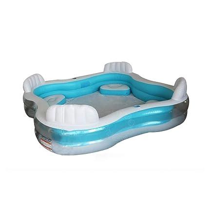 Amazon.com: YANFEI Asiento de respaldo, piscina familiar ...
