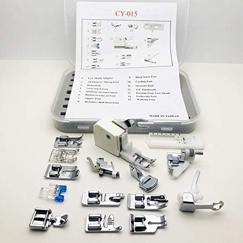 Austin® Premium 15 Piezas Máquina de Coser Kit de Regalo en Caja con Instrucciones para Adaptarse a Brother Singer ...