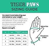 Tiger Paw Gymnastics Black Wrist Wraps | Adjustable