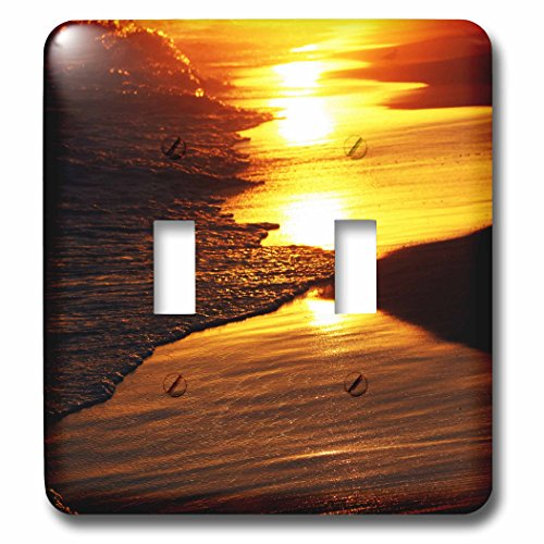 Sven Herkenrath Landscape - Sunset Mirage - Light Switch Covers - double toggle switch (lsp_233953_2)