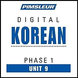 Korean Phase 1, Unit 09