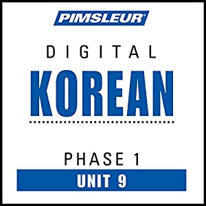 Korean Phase 1, Unit 09 Audiobook