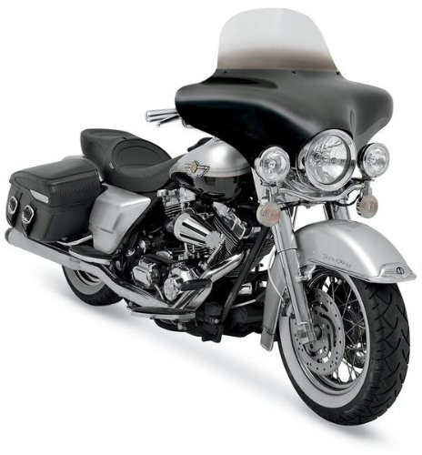 9 Windshield Shades Memphis - Memphis Shades 04-09 Yamaha XVS11A Batwing Fairing Without Mounts
