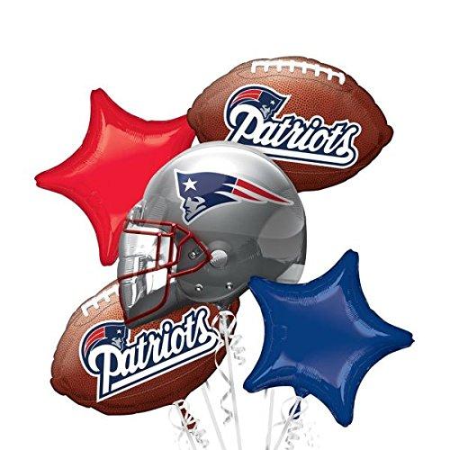 Anagram Bouquet Patriots Foil Balloons, Multicolor]()