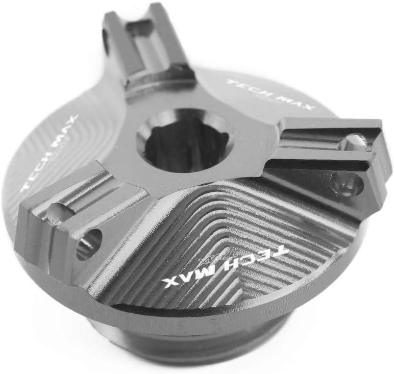 CXEPI Tap/ón de Drenaje de Aceite Plug Tuercas tornillos para Yamaha Tech Max TMAX560 Tmax 560 2019 2020
