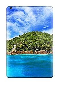 Ipad Mini/mini 2 Case Slim [ultra Fit] Water Ocean Clouds Beach Seas Summer Season Shore Tropical Protective Case Cover