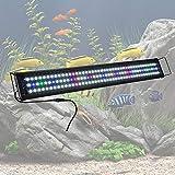 buy YesHom 129 Multi-Color LED Aquarium Light Extendable Full Spectrum Lamp for 36
