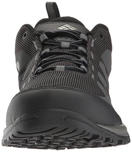 Columbia Vapor Vent, Zapatillas de Deporte Exterior para Hombre Negro (Black/white 010)