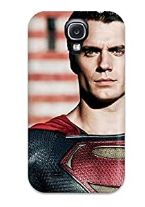 High Impact Dirt/shock Proof Case Cover For Galaxy S4 (henry Cavill In Man Of Steel)