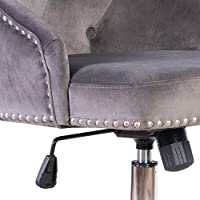 Super Irene House Modern Mid Back Tufted Velvet Fabric Computer Desk Chair Swivel Adjustable Accent Home Office Task Chair Executive Chair With Soft Seat Forskolin Free Trial Chair Design Images Forskolin Free Trialorg