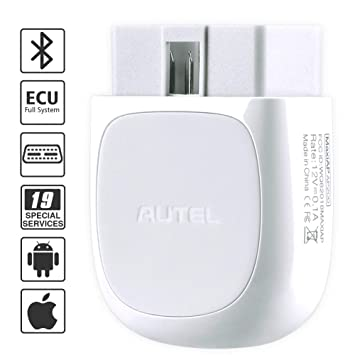 Autel AP200 Bluetooth OBD2 Scanner Code Reader with Full Systems Diagnoses,  AutoVIN, Oil/EPB/BMS/SAS/TPMS/DPF Resets IMMO Service for Family DIYers