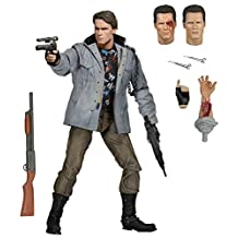 NECA Terminator Scale Ultimate T800 Tech Noir Action Figure, 7-Inch