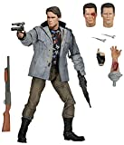 NECA Terminator Scale Ultimate T800 Tech Noir Action Figure, 7""