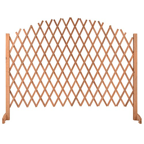 Expanding Portable Fence Wooden Screen Pet - Can Eyes See Sunglasses Through