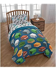 Minecraft Single Bed Size (Special Teddy Fleece Material) Duvet Cover Set
