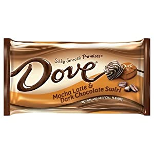 upc 040000506065 product image for Dove Mocha Latte and Dark Chocolate Swirl Promises Candy, 7.94 oz | barcodespider.com