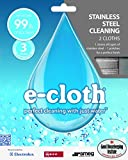 e-cloth Stainless Steel Cleaning - 2 cloths