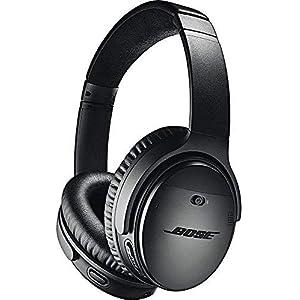 Bose QuietComfort 35 (Series II) Wireless Headphones, Noise Cancelling with Amazon Alexa - Black